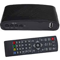 Цифровой ТВ-ресивер Т2, HD-72, пластиковый корпус, с интернетом, пластиковый корпус