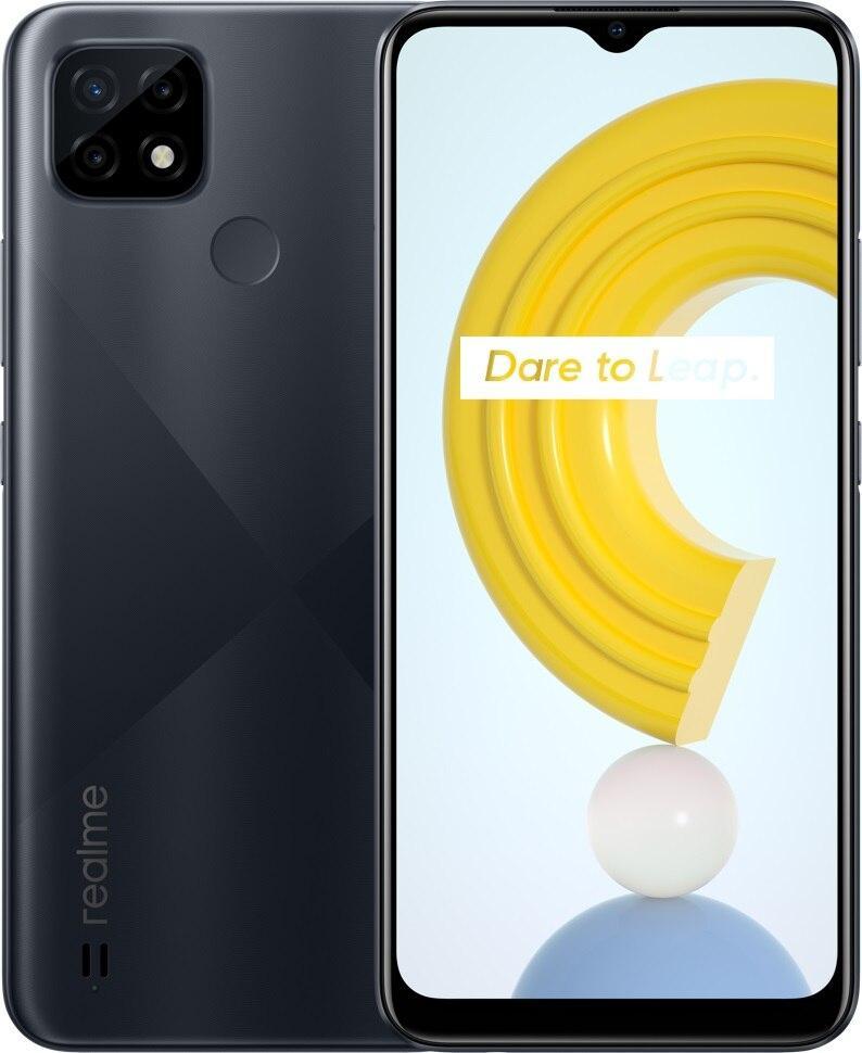 Realme C21 RMX3201 4/64Gb black