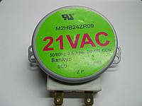 Мотор вращения поддона микроволновки 21V