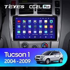 Штатная магнитола TEYES  Hyundai Tucson 1(2004- 2009 )Android 10 GPS