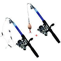 Удочка - спиннинг / Универсальный набор для начинающего рыбака №2