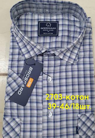 Сорочка 100 % коттон з коротким рукавом - 2703, фото 2