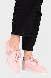 Мокасины женские розовые AAA 131320P