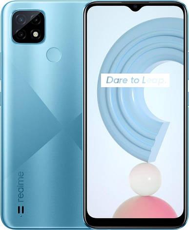 Realme C21 RMX3201 4/64Gb blue, фото 2