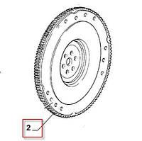 Зубчатый венец маховика Fiat Doblo 1.9D