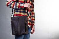 "Чоловіча шкіряна сумка ""Elect"", мужская кожаная сумка, фото 1"