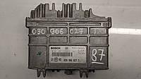 Блок управления двигателем volkswagen Golf 3 1.4 №87 030906027t 0261203613 0261203614