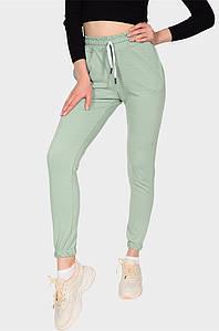 Спортивные штаны женские мятные AAA 131591P
