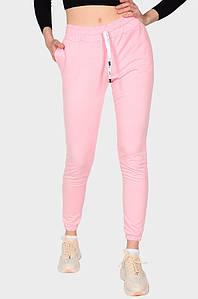 Спортивные штаны женские розовые AAA 131578P