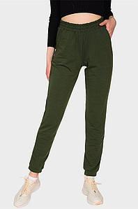 Спортивные штаны женские хаки AAA 131564P
