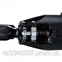 Електросамокат KUGOO S3 чорний ОРИГІНАЛ. Складаний електросамокат з підніжкою куго c3, фото 3