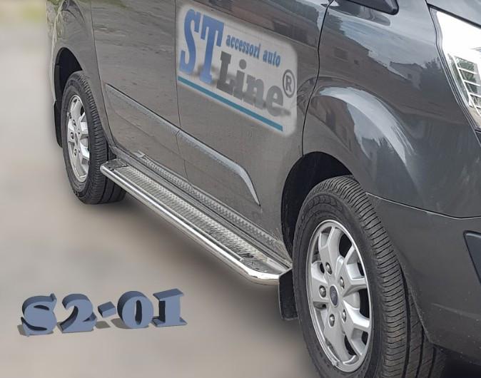 Пороги Ford Custom 2012 - коротка база