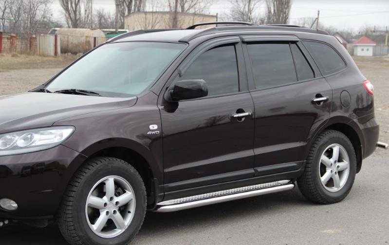 Пороги Hyundai Santa Fe 2006-2012