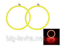 LED кольца Ангельские глазки 2 шт.  Красный