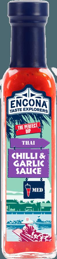 Соус тайский чили с чесноком Encona, 142мл
