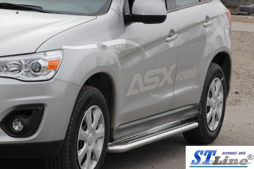 Пороги Mitsubishi ASX 2013-