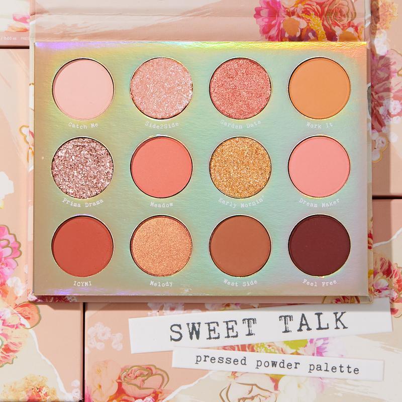 Палетка тіней для повік ColourPop Sweet Talk