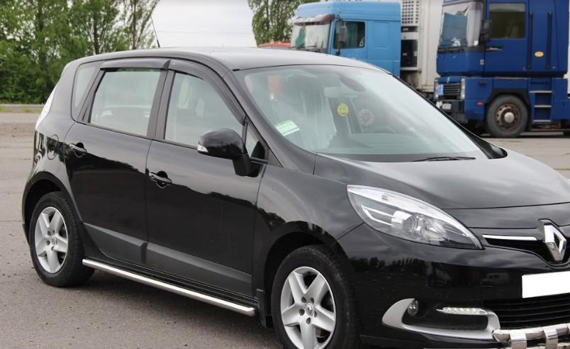 Пороги Renault Scenic 2013-2015