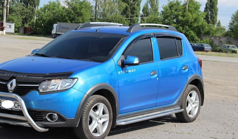 Пороги Renault Sandero Stepway 2012-