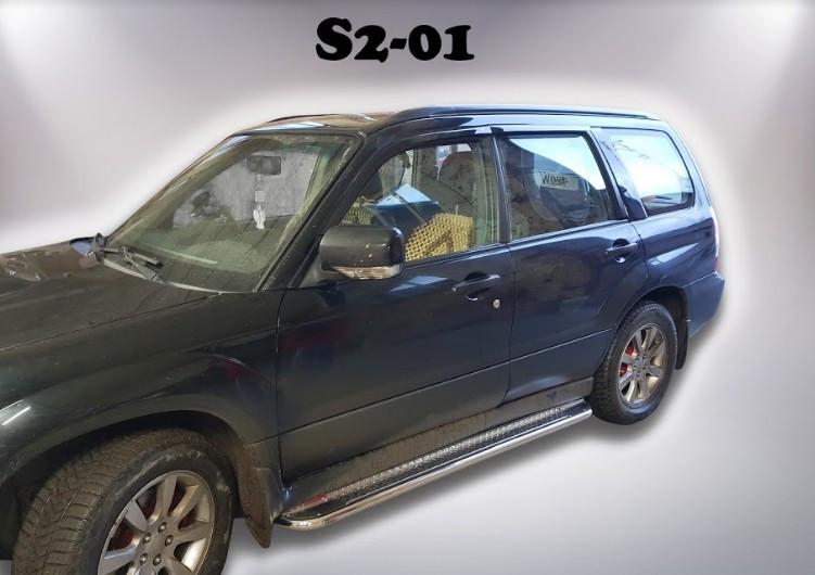 Пороги Subaru Forester SH 2007-2012