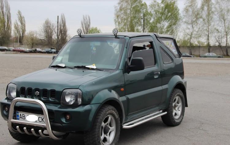 Пороги Suzuki Jimny 2004-