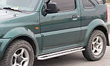 Пороги Suzuki Jimny 2004-, фото 2