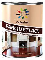 Лак полиуретан-акриловый PARQUETLACK COLORINA полуматоый 2.5 л