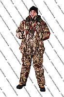 Костюм зимний для охоты и рыбалки Камыш Зеленый  -25С
