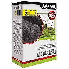 Губка Aquael «Media Set Standard» 2 шт. (для внутреннего фильтра Aquael FAN-3 Plus)