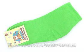 Шкарпетки дитячі ТОП-ТАП 18-20 р) 29-31 салатовий (Д-102)