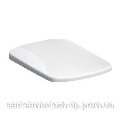 SELNOVA Square сиденье с крышкой для унитаза, крепления сверху, slow closing, с быстросъёмными креплениями,