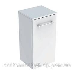 SELNOVA Square тумба 33*65*29,7см, с одной дверью, белый глянец
