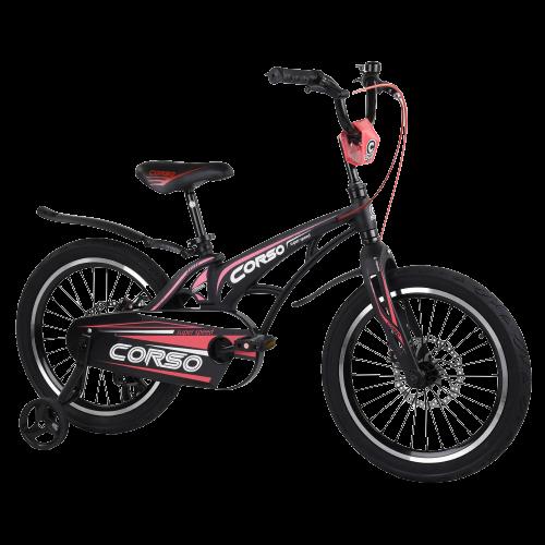 Велосипед дитячий для хлопчика дівчинки 5 6 7 років колеса 18 дюймів Corso MG-18939 магнієва рама