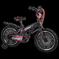Велосипед дитячий для хлопчика дівчинки 5 6 7 років колеса 18 дюймів Corso MG-18939 магнієва рама, фото 1