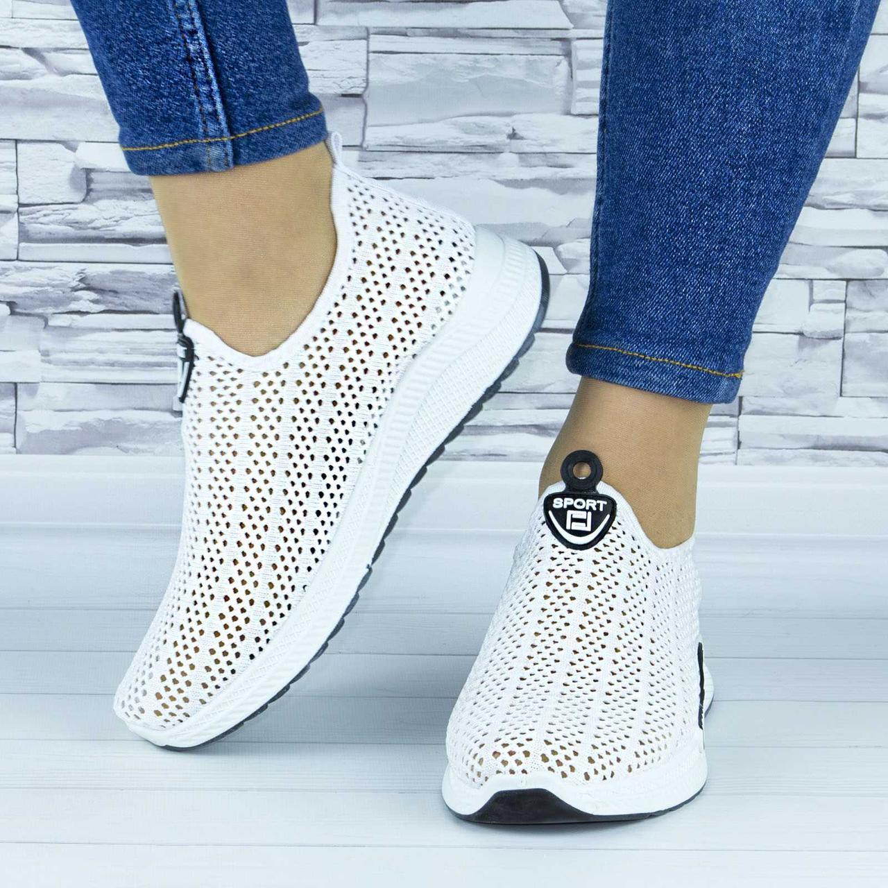 Кросівки жіночі білі сіточка (b-658)