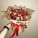 Мужской букет съедобный вкусный поздравительный подарочный безалкогольный Колбасный, фото 2