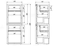 Компресорний автохолодильник Alpicool CR130 (130 літрів). Охолодження до -20℃, живлення 12, 24, 220 вольт, фото 5