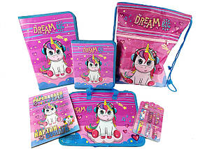 Подарунковий набір для випускника дитячого садка Kidis Unicorn №9-2