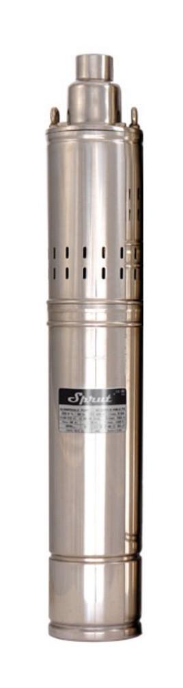 Свердловинний насос SPRUT 4S QGD 1.2-50-0.37 + кабель 10м глибинний насос напір 93м, 2 м3/год, 580 Вт
