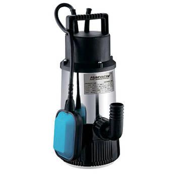 Колодезный насос Насосы плюс DSP-800-3H насос для колодцев, бассейнов глубина погружения 5м, 800Вт
