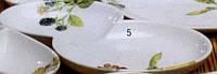 Менажница овальная 2-секционная
