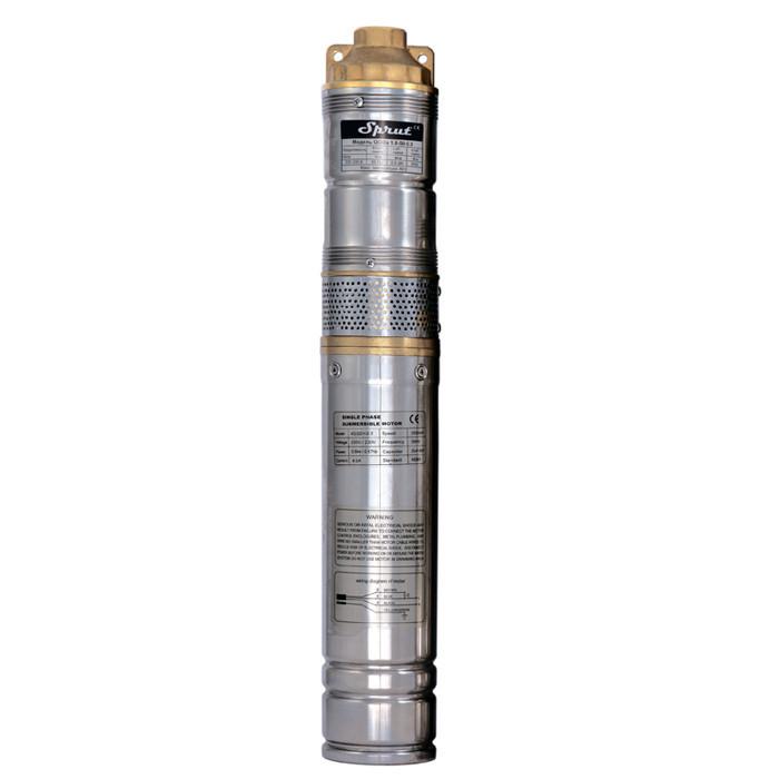 Скважинный насос SPRUT QGDa 1.8-50-0.5 + пульт+ кабель 10м глубинный насос 90м, 750 Вт, 45 л/мин