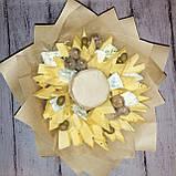 Букет из сыра  и орехов съедобный вкусный поздравительный подарочный Майский, фото 2
