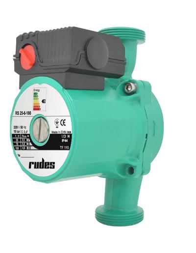 Циркуляционный насос Rudes RS 25-4-180 для обеспечения циркуляции теплоносителя