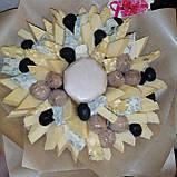 Букет из сыра  и орехов съедобный вкусный поздравительный подарочный Майский, фото 3