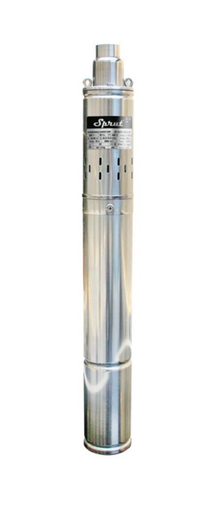 Скважинный насос SPRUT 3S QGD 1-30-0.37 kW+ кабель 15м глубинный насос напор 66м, 450 Вт
