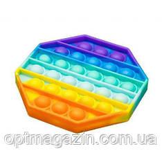 Сенсорная игрушка Антистресс Пупырка POP it Fidget | Тактильная игрушка Антистресс Пупырка, фото 2