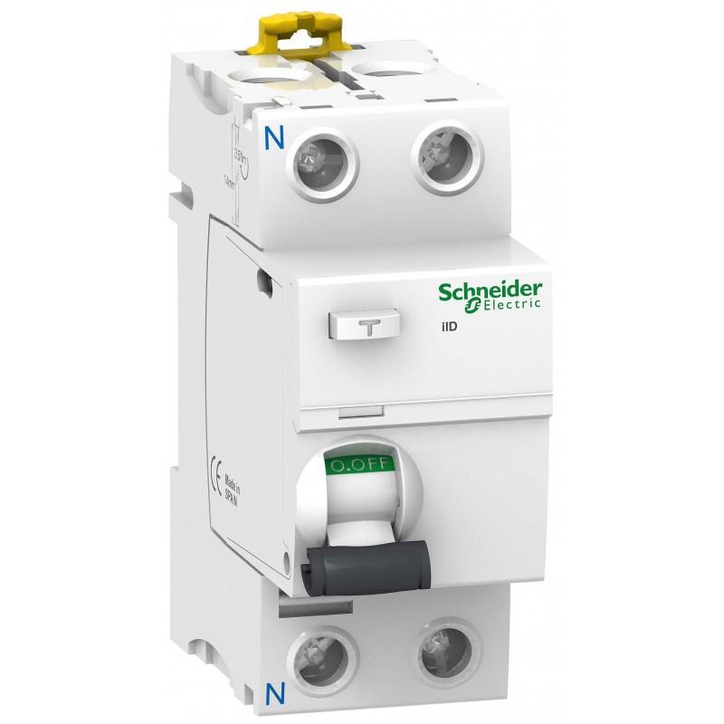 Диференційне  реле Schneider Electric Acti 9 iID 2p 25A 30mA A9R61225