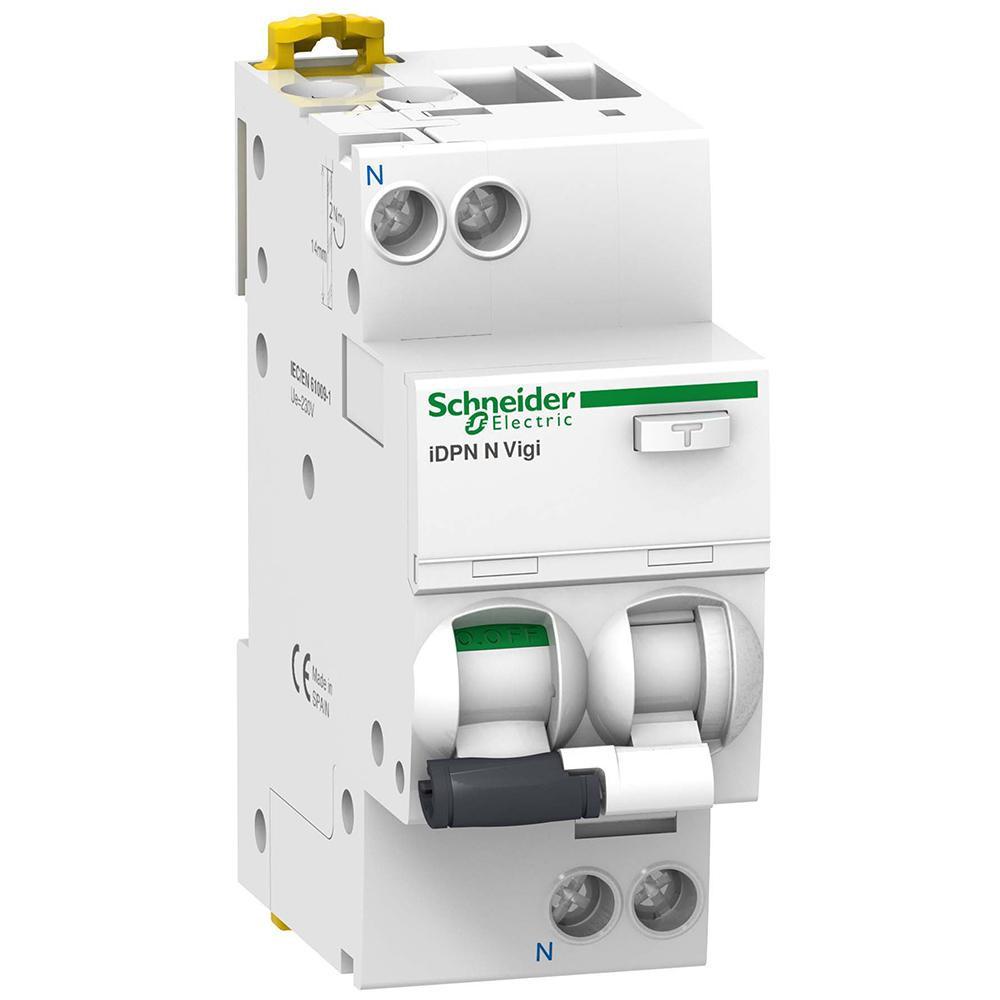 Дифавтомат Schneider Electric Acti 9 iDPN Vigi 1+Np 20A 6kA 30mA C A9D31620