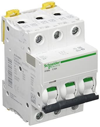 Автоматичний вимикач Schneider Electric iC60L 3p 6A C 6kA A9F94306